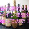 【春の運試し!】おすすめワイン福袋を買ってみた!(購入編)