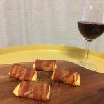 【おすすめ!】ミニ燻製カマンベールベーコン包み焼きを作ってみた!