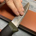 【素人包丁研ぎ】モーラナイフを研いでみた!(包丁・研ぎ方)