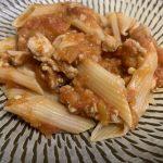 【減量食】ミートソースペンネの5合炊きのレシピにチャレンジ(マッスルグリル)